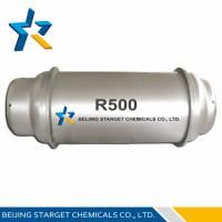 Buy cheap R500 99.8 % Purity Azeotrope Refrigerant Mixture For Temperature Sensing Agent product