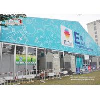 Buy cheap Temporary 40m Glass Wall Clear Span Marquee Tent With Logo Printing from Wholesalers