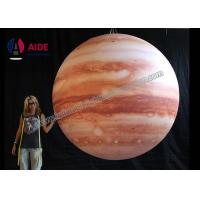 China LED Inflatable Advertising Balloon Giant Inflatable Planets Solar System on sale