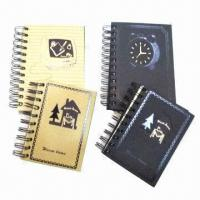 Buy cheap Notebooks with CMYK Printing, Measures 15 x 21cm, OEM and ODM Orders are Welcome, Weighs 80gsm product