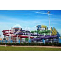 Fun Backyard Custom Water Pool Slides For Family , Amusement Park / Water Park Equipment
