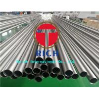Quality Heat Exchanger Seamless Titanium Tubing ASTM B338 Gr2 Material 0.3 - 5mm Wall Thickness for sale