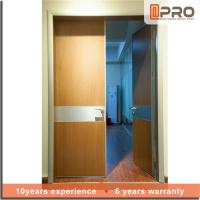 Buy cheap Break Resistance MDF Interior Doors Eco Friendly With Handles And Hinge product