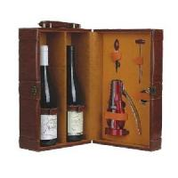 Buy cheap Cylinder leather wine box product