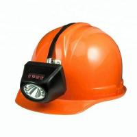 Buy cheap Underground Mining Cap Lamps , IP68 Waterproof Coal Miner Hard Hat Light product