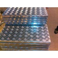 Buy cheap 2mm 5 Bar Aluminium Checker Plate Cold Rolling Materials ISO Certification product