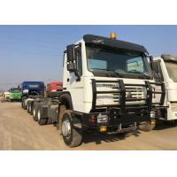 Buy cheap Diesel Prime Mover Truck 6X4 Driving Type 80R22.5 Radial Tire LHD Steering product
