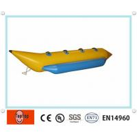 Single tube 4 person inflatable fishing boat colorful for 4 person fishing boat