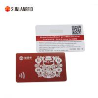 Buy cheap Newest smart card chip card with magnetic stripe product