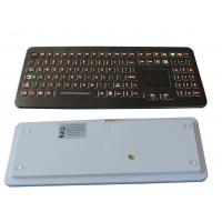 China Professional IP68 Medical Backlit Keyboard with Flat Keys and Sealed Touchpad on sale