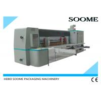 Buy cheap Automatic Rotary Die Cutting And Creasing Machine For Corrugated Cardboard With Pre - Creaser product