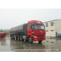 Buy cheap 30000L -45000L Capacity Chemical Tanker Truck for Fluosilicic Acid / Hexafluorosilicic Acid product