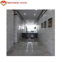 Buy cheap Wear Resistant White Wood Vein Marble Slabs & Tiles For Wall & Floor Covering product