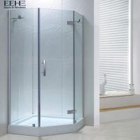 Buy cheap Sandy Silver Bathroom Shower Cubicles / Walk In Bathroom Shower Cabin from wholesalers