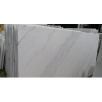 Buy cheap 132.8Mpa Calacatta Gold Quartz White Marble For Fireplace product