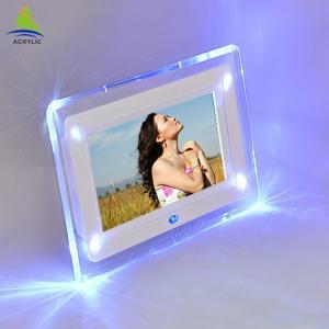 Buy cheap Shop Mini Acrylic Led Frame Acrylic Fashion Design Led Light Photo Frame product
