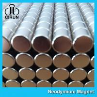 China Disc Shaped Neodymium Permanent Magnets , N38 Ndfeb Magnet Super Strong on sale