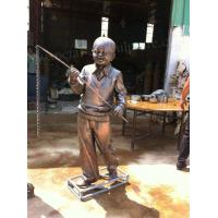 Buy cheap Art Figure Sculpture Brass Metal Garden Ornaments For Holiday Decoration product
