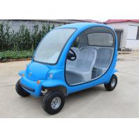 Buy cheap 4 Passengers Electric Car Golf Cart , 4 Wheels Tourist Small Electric Cars product