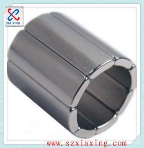 Buy cheap n50 sintered arc segment ndfeb magnetic magnet for servo motors product