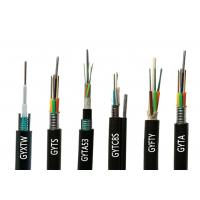 China Outdoor 4 Core Glass Fiber Optic Cable GYXTW GYTA GYTS GYTA53 GYTY53 2 on sale