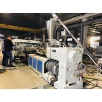 Buy cheap Reinforced Thick PVC Board  Extrusion Line Heat Resistant Non Pollution Smooth Surface product