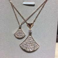 Buy cheap BVLGARI  brand  jewelry BVLGARI DIVA  full diamonds necklace in 18 kt pink gold  Also available in white and yellow gold product