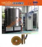Hard PVD Plating Equipment Diamond Steel File TiN Gold Coating Machine
