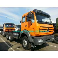 Buy cheap Orange BEIBEN Beiben Tractor Truck , Trailer Head Truck Left Hand Drive For Logistics product