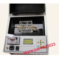 Buy cheap transformer oil analyzer,Low cost transformer oil tester to testing of the dielectric strength and withstand volatge product