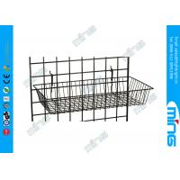 """Buy cheap Metal Gridwall Display Racks Basket Accessories 24"""" x 12"""" For Merchandise product"""