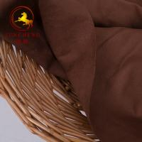 Buy cheap 2018 double side suede fabric for garments product