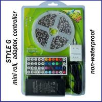Buy cheap Blister kit RGB led strip set with 5050 led +power suppy+IR remote controller product