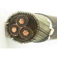 Buy cheap Cu XLPE Insulated Copper Wire Armoured Cable  2.5 Mm 3 Core Medium Voltage product