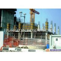 Flexible Concrete Wall Forming Systems Galvanized Surface High Load Capacity