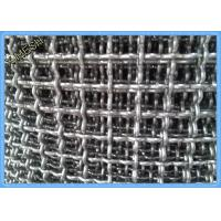 "Buy cheap 1/2"" X 1/2"" Aluminum Mining Screen Mesh , Crimped Wire Mesh For Vibrating Screen product"