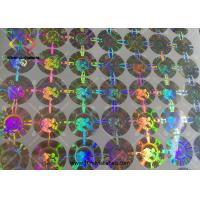 China 3D Round Shaped Hologram Seal Stickers Body Building Steroids Packaging on sale