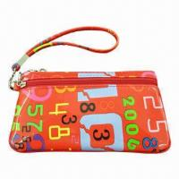 Buy cheap Imprint PU Leather Coin Purse, Customized Designs, Colors and Sizes product