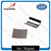 Buy cheap Personalized Sintered Neodymium Arc Magnets For Sever Motor With 38SH product