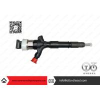 Buy cheap Toyota Engine Common Rail Injector Parts Denso Diesel Injector 23670-0L050 product