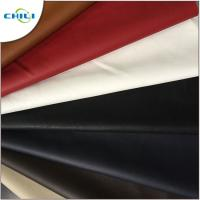 Buy cheap Synthetic Faux Leather Upholstery Fabric Embossed Surface Treatment Durable product