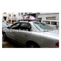 Buy cheap 192 by 64 pixels Each Side Taxi LED Display of 5 mm SMD3528 LED 3,800 nits product