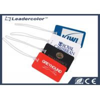 Buy cheap High Security PVC Luggage ID Card , Luggage Tag Card for Traveling product