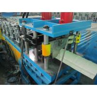 Buy cheap High Efficiency Ridge Cap Roll Forming Machine 20Mpa 0.05mm Cr - Plating product