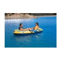 China Two Adults Ferry Barge Rubber Dinghy , Heavy Duty Inflatable Boat on sale