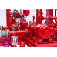 Buy cheap 450GPM @ 125PSI Skid Mounted Fire Pump With Centrifugal End Suction Fire Pump Sets product