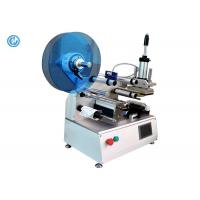 Buy cheap Semi Automatic Cable Labeling Machine , Stainless Steel Wire Labeling System product