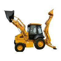 China HORNquip 4*4 Caterpillar Wheel Loader , WZ30 25 Backhoe Loader With 2500kg Rated Load on sale