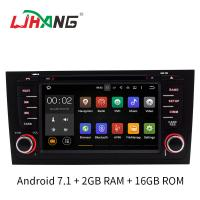 Buy cheap 2GB RAM A6 Audi Car DVD Player GPS Navigation System With SD USB Radio Mirror Link product