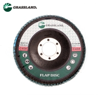 Buy cheap 115X22mm Aluminium Oxide 60 Grit Angle Grinder Flap Disc product